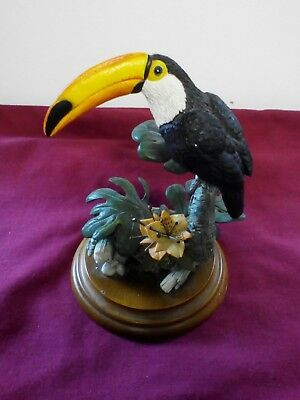 Country Artists toucan by Michael Abberley Hand Crafted