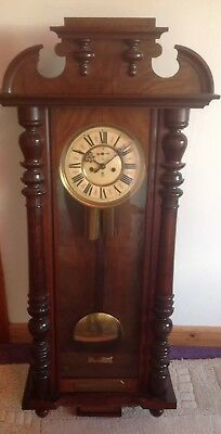 Vintage Gustav Becker Wall Clock 1925-1933 Era