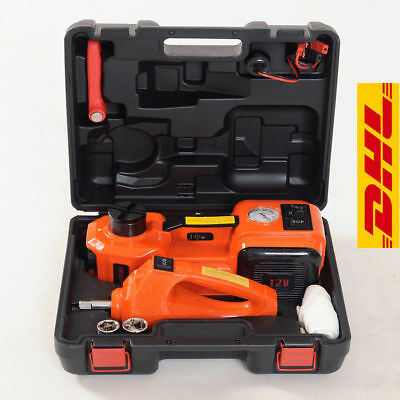 3 functions electric hydraulic jack impact wrench and air compressor 2018 DHL