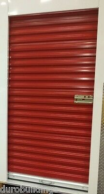 "DuroSTEEL JANUS 3'x6'8"" Metal Roll-up Door 650 Storage Series & Hardware DiRECT"