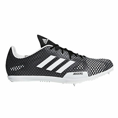 save off 3b6fe ee74d adidas adizero Ambition 4 Mens Running Spike Shoe BlackWhite