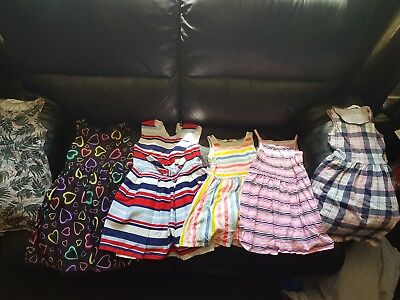 girls clothes bundle age 5-6, 6-7 years