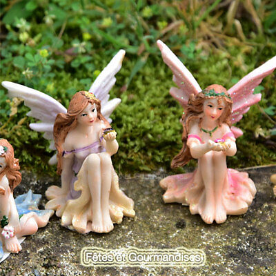 Fee perle fairy heroic fantasy figurine bapteme mariage communion dragees