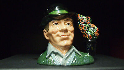 Royal Doulton Rare The Gardener D6868 Trial Colourway Character Jug Small