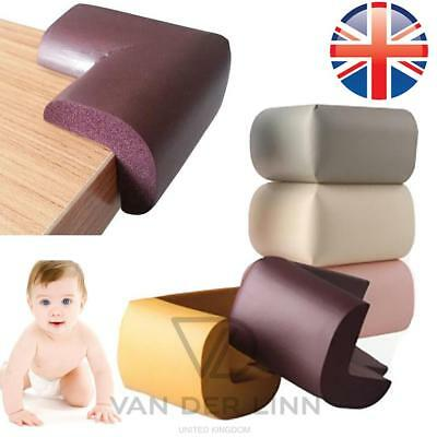 *UK Seller* 4~16X Baby Safety Soft Foam Corner Protector Cushion Guard Furniture