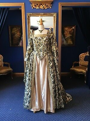 Gorgeous Theatrical Style Elizabethan Period Dress, Really Beautiful Item!!
