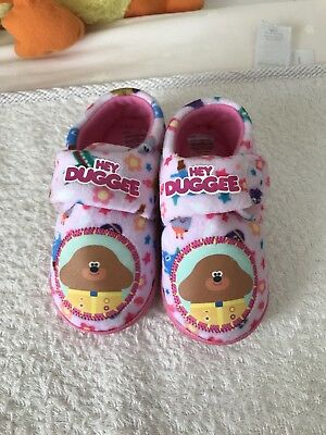 Hey Duggee Girls Slippers Size 4-5