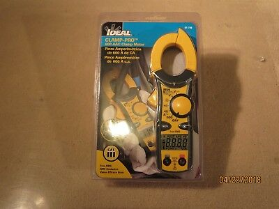 IDEAL 61-746  Clamp Pro  600 AAC True RMS  Clamp Meter  ( new in the package )