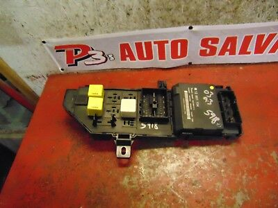 06 05 04 03 saab 9-3 oem interior fuse box panel body control module
