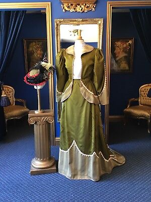 Beautiful Theatrical Edwardian Style Suit, Matching Jacket, Skirt & Hat,Gorgeous