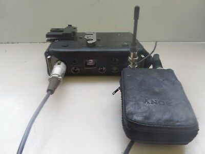 Sony WRR-27 UHF Tuner with FCC TX DATA WRT-27 Transmitter and Case