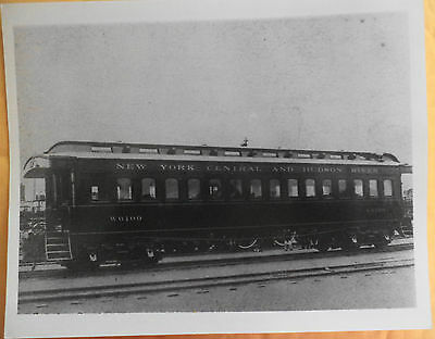 2 New York Central and Hudson River railroad photos, crew pic, 10 x 8 reprints