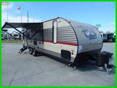 2018 Forest River Cherokee Grey Wolf 23MK New Towable Travel Trailer Camper