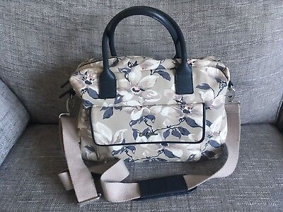 Cath Kidston Floral Changing Bag with matching nappy/wipes insert