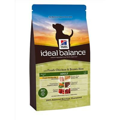 Hill's Ideal Balance Adult Chicken & Brown Rice Dry Dog Complete Food