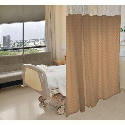 "Anti-Microbial Hospital Cubicle Curtains: 72""W X 90""L; Pattern: Basketweave A-M"