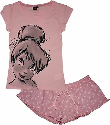 Disney Tinkerbell Fairies Ladies Stripe Pyjama Set