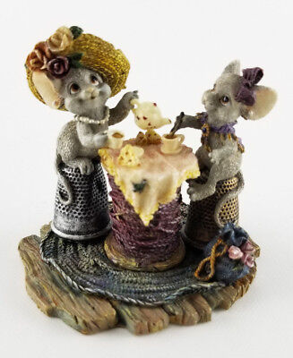 Boyd's Bears And Friends Critter & Co Lucy and Ethel Tea Time Tails