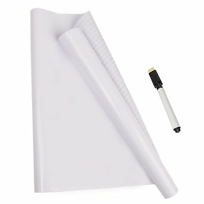 Dry Erase Whiteboard Stick for Wall, Self-adhesive White Board Peel and Stick Pa