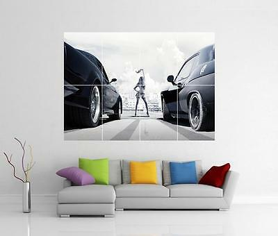 The Fast And The Furious 8 Fate Xl Giant Wall Art Picture Print Photo Poster