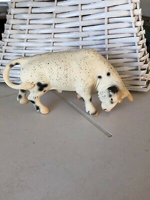 schleich fighting bull great used shape 2005 WOW!! must see to believe LOOK!!!!!