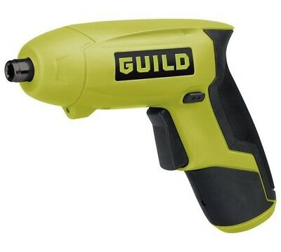 Guild Cordless Li-Ion Screwdriver - 3.6V - NEW, no box