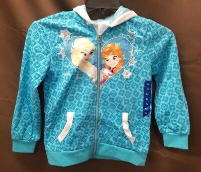 NEW Disneys Princesses Olaf's Frozen Adventure Elsa and Anna Jacket Size 6X