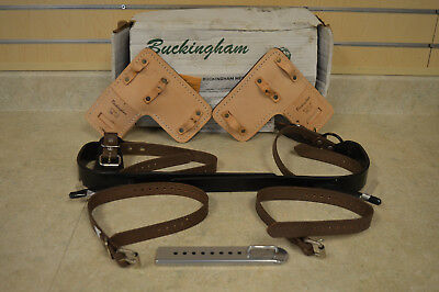 Buckingham Climbing Spikes Gaffs 3122-R 08/17 NEW IN BOX *FREE SHIPPING*