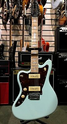 Revelation Rjt60/12 - 12 String Electric Guitar, Sea Foam Green, Left Handed