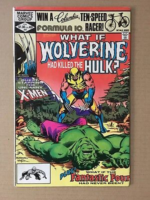 What If #31 vol 1 Wolverine Had Killed The Hulk Genuine Original - See photos!