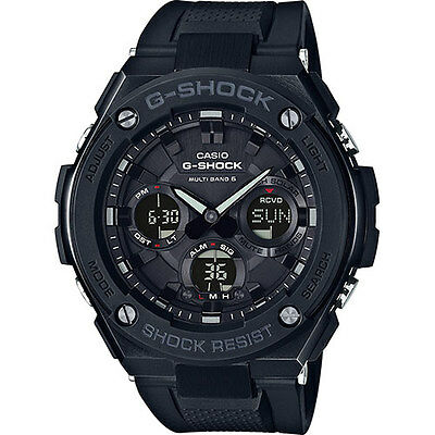 Casio G-Shock Solar Watch Reloj Hombre Radio Cockpit 200M Gst-W100G-1Ber