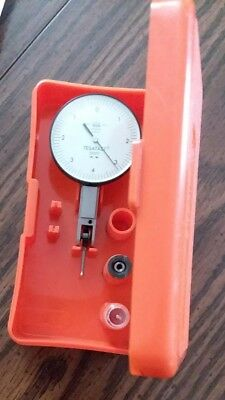 "TESA Tesatast Dial Test Indicator .0001"" GRAD Swiss Made 018-20012"