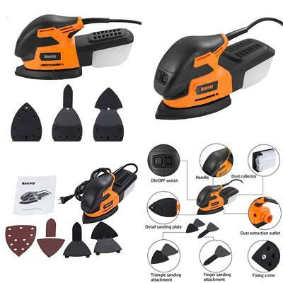 Anesty Mouse Detail Sander 13000 Opm Electric Sanding Machine With Led Light And