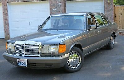 1986 Mercedes-Benz 500-Series 560SEL 1986 Mercedes 560SEL - CLEAN, GREAT-DRIVING BOULAVARD CRUISER
