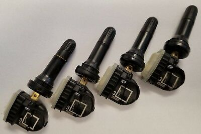 (4) OEM GM TIRE PRESSURE SENSORS - TPMS CHEVY GMC CADILLAC BUICK 13598772 315MHz