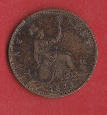 Great Britain Penny 1873