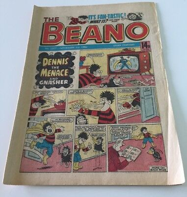 The Beano  - Uk Comic - 3 Nov 1984 - # 2207