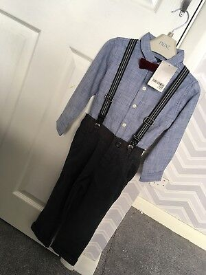 Boys Next 2-3 Shirt Trousers Set