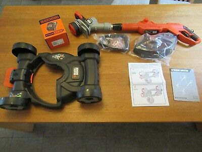 Black And Decker 18v Cordless Strimmer With Mower Attachement STC1820