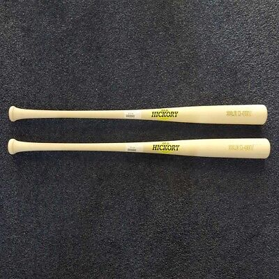 (2) Old Hickory X-OUT Maple Wood Baseball Bat 33 inch Natural OHX-OUT (2 PACK!)