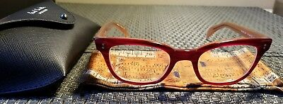 82944051a05 Authentic Paul Smith Eyeglasses PS-294 Red Havana PM 8029 1388    Xmas Gift