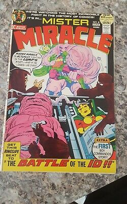 Dc Comics Mister Miracle #8  .1971 Vf 52 Pages