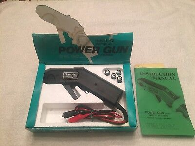 FW Bell PG-200D Power Gun Probe Hand Held Digital Meter with original box manual