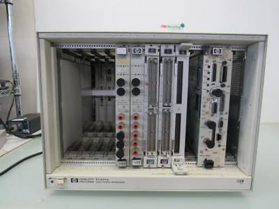 HP E1401A High Power VXI Mainframe w/ Cards