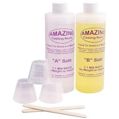 Amazing Casting Resin Kit 16oz (472ml) - White