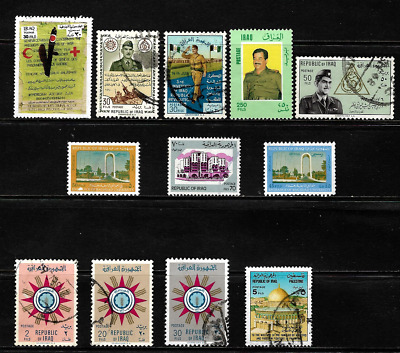 Iraq.. A good collection of stamps .. 001099