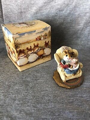 "Wee Forest Folk ""Babby Sitter"" M-66 Yellow Chair"