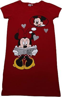 Disney Minnie Mouse Ladies Nightie Pyjamas