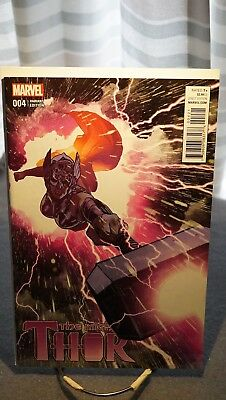The Mighty Thor #4 - Adam Hughes Cover - Fantastic Condition!