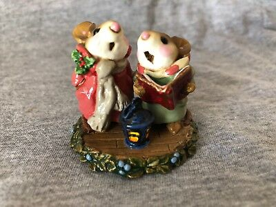 "Wee Forest Folk ""Silent Night"" Christmas M-173"